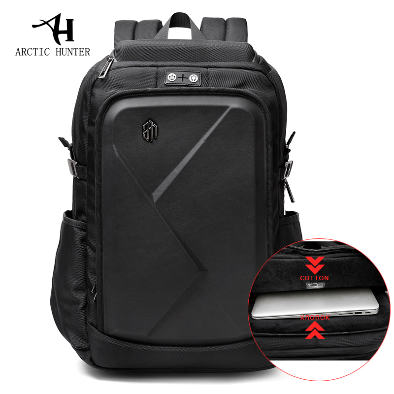 Laptop Backpack For Men Water Repellent Functional Rucksack with USB Charging Port Travel Backpacks Shockproof backpack