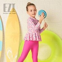 JulySand Skincare купальный костюм из двух предметов для маленьких девочек ezi18G065