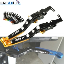 For YAMAHA XT600 XT 600 E Z TENERE ZE TENERE 1984-2003 Motorcycle Accessories Lever CNC Motorbike Adjustable Brake Clutch Levers