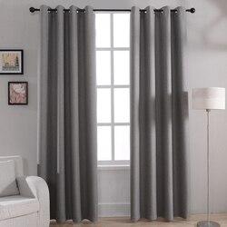 Moderne Solid Blackout Vorhänge Für Bett Wohnzimmer Fenster Vorhang Vorhänge  Shades Fenster Behandlungen Grau Creme Lila Braun