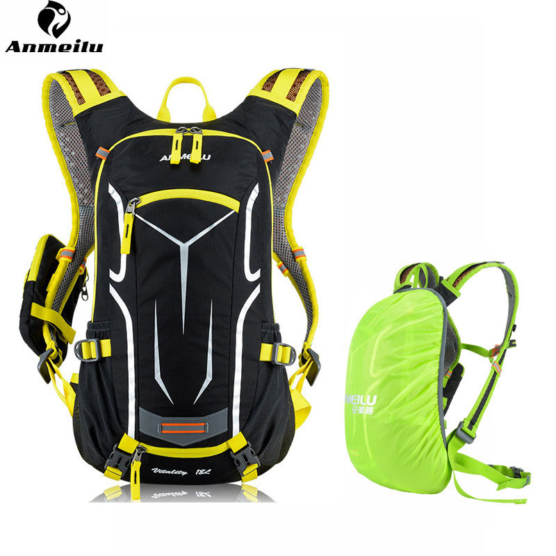 ANMEILU Ultralight Plecak na rower do jazdy na rowerze motocyklowym z odblaskowymi torbami Plecaki rowerowe do torebek alpinistycznych do podróży