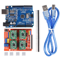 CNC Shield Expansion Board V3 0 UNO R3 Board USB 4PCS A4988 DRV8825 Stepper Motor Driver