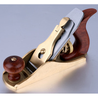 Professional Woodworking Metal Plane Copper Plate,European Planer American No. 1 Planer,tools for carving wood