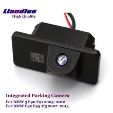 Liandlee For BMW 3 M3 E90 E91 E92 E93 2005~2013 Car Rear Backup Parking Camera Rearview Reverse / SONY CCD HD Integrated