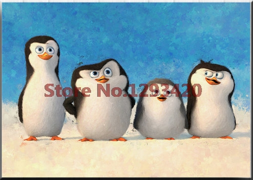 Diy Diamond Embroidery penguins Painting Cartoon Full Square Drill Series Children Bedroom