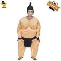 Halloween Fat Man Sumo Wrestler Suits Cosplay Inflatable Wrestler Fighting Performance Roleplay Costumes for Carnival Party