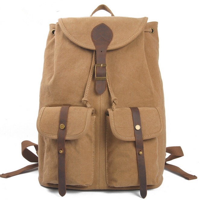 ETN BAG hot sale brand high quality unisex vintage canvas backpack women men casual travel bags lady man leisure bag