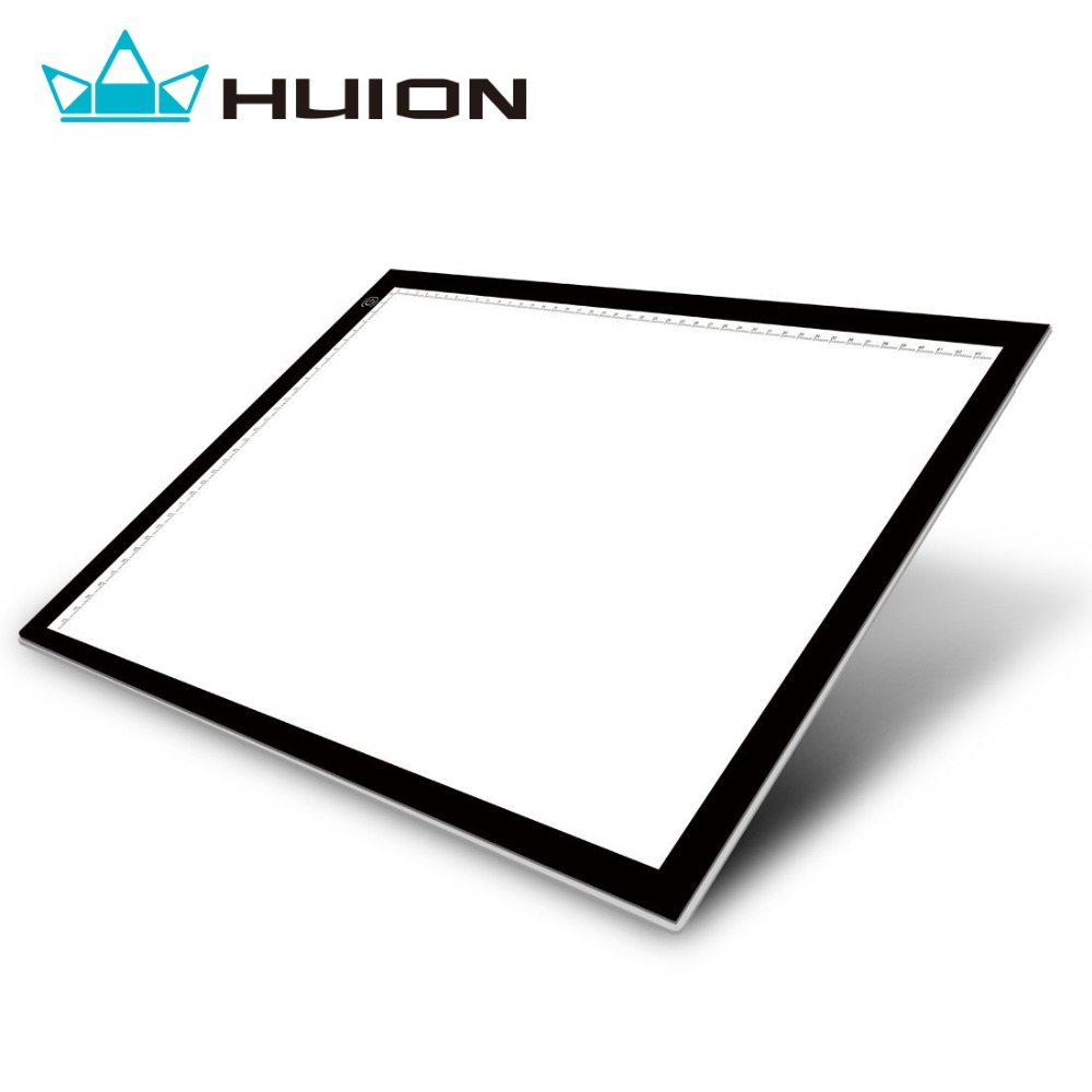 Huion A3 Adjustable LED Light Pad Ultra Thin Graphic Drawing Tablets Copy Board For Tattoo Stencil