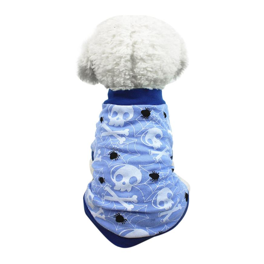 HOT Halloween Cute Pet T Shirts Clothing Small Puppy Costume Coat For Small Dogs Pets Costume Coat Chihuahua Clothes c817