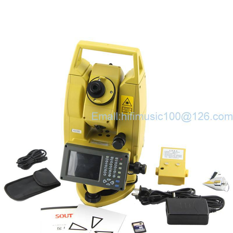 SOUTH 342R5 500m Reflectorless TOTAL STATION win total station