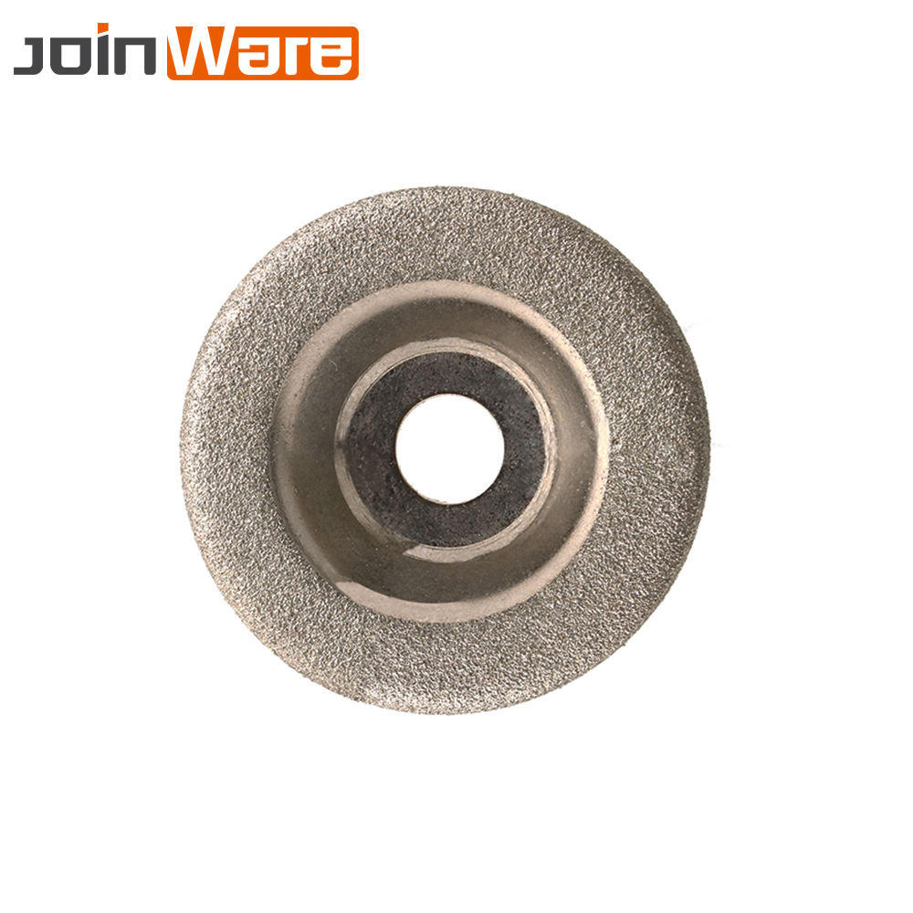 1Pc Diamond Grinding Wheel Cup Glass Emery Milling Cutter Circle Grinder Stone Sharpener Cutting Wheel Rotary Tool 50x10x8mm