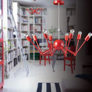 Kitchen Retro Loft industrial Lighting multi-color Spider dining Room Pendant Lights Lustres vintage Wrought Iron Pendant Lamp new vintage loft pendant lights wrought iron retro edison hanging lamp industrial bar living kitchen room pendant lamps zdd0018