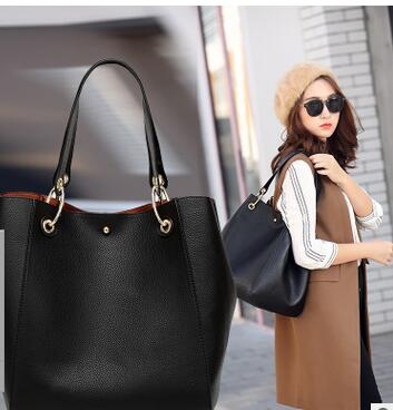 Fashion Handbag Evening-Shoulder-Bag Pu United-States Retro The Autumn Winter Europe