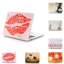 New Fashion Matte Color printing Hard Case Cover for Macbook Air 13 12 11 Pro 13