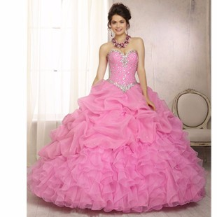 Ball-Gowns-Quinceanera-Dresses-2016-With-Hand-Beading-Sweetheart-Sleeveless-Backless-vestidos-de-15-anos-Dress