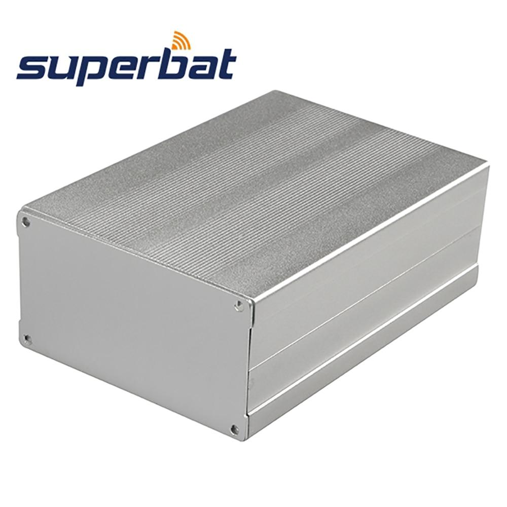 Superbat 150*105*55 Big Extruded Aluminum Box Electronic PCB Amplifier DIY Instrument Enclosure Case 5.91*4.13*2.17(L*W*H)Superbat 150*105*55 Big Extruded Aluminum Box Electronic PCB Amplifier DIY Instrument Enclosure Case 5.91*4.13*2.17(L*W*H)