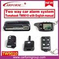 Original sistema de segurança alarme de carro TOMAHAWK TW9010 com versão Em Inglês manual