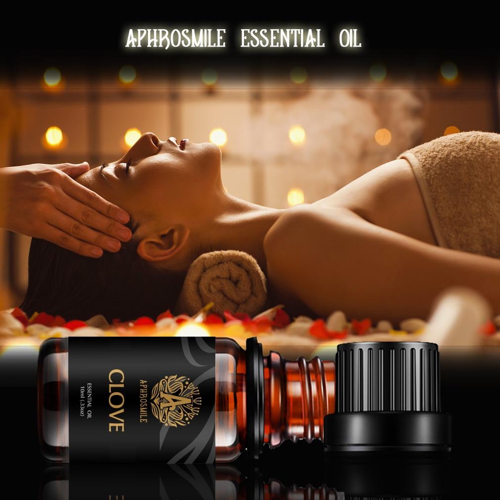 Free Shipping Clove Essential Oil 10ml Moisturizing Skin Care Oil Improve Rough Skin Relieve Pain Massage Oil Clove Oil