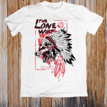 77582f9b37 THE LONE WOLF UNISEX T-SHIRT Hot Sell 2018 Fashion T Shirt Short Sleeve  Tricolor