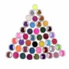 45 Colors Nail Art Make Up Body Glitter Shimmer Dust Powder Decoration Good Quality J170106