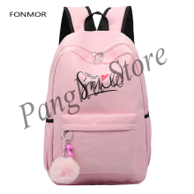 School bag travel bag style fashion style Preppy for girls teens bag stylish laptop backpack for girls цена