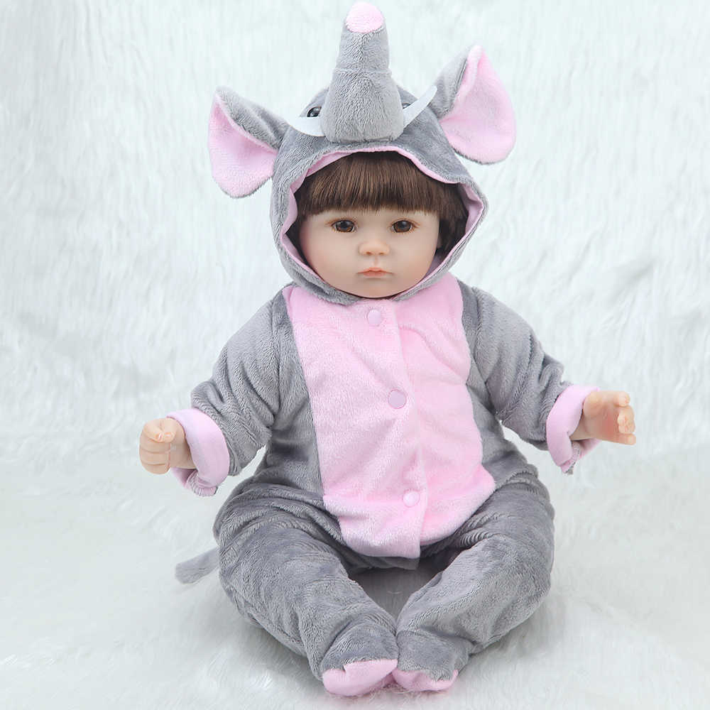 42 centímetros Adorável lifelike Reborn Bebe High-end Surpresa brinquedo Acompanhar fnaf