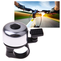 NEW Arrival Colorful Metal Bike Bicycle Sound Bell Cycling Bike Handlebar Ring Bell BHU2