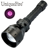 UniqueFire 1405 940NM IR Portable Led Flashlight 3 Mode With Zoom Torch Lamp Infrared Light Night Vision For Hunting