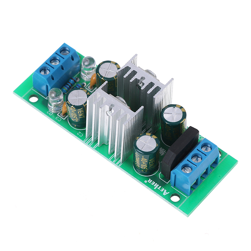 Great Quality DC 18~35V LM7815 + LM7915 + - 15V Dual Voltage Regulator Rectifier Bridge Power Supply Module