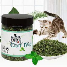Organico 100% Naturale Premium Catnip Bestiame Erba 10g/20g/30g Mentolo Sapore Divertente Giocattoli Del Gatto animale Sano Sicuro Commestibile Trattamento