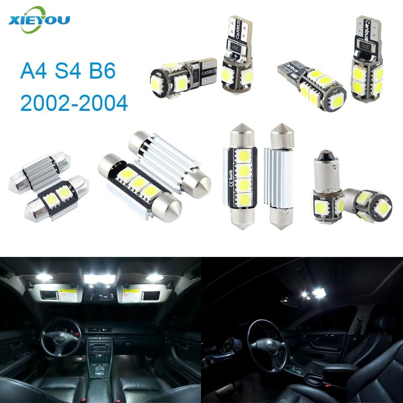 XIEYOU 20 יחידות LED ערכת אורות פנים Canbus - אורות רכב