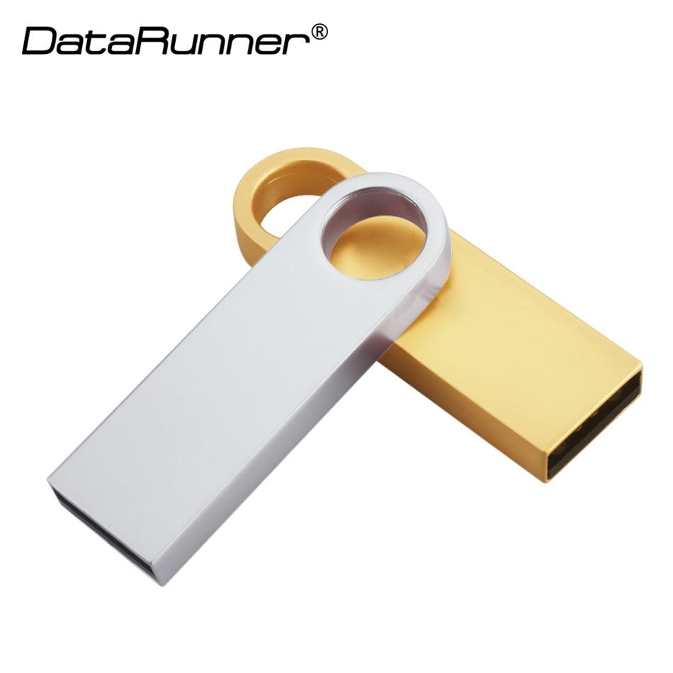 New Usb Flash Drive key Pen Drive 64GB Metal Waterproof USB Stick Pendrive 32GB 16GB 8GB Real Capacity USB Memory Disk