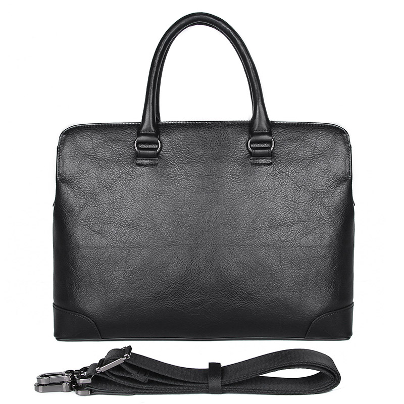 Genuine Leather Business Bag Black Laptop Bag Lawyer Briefcase Men Leather Handbag 7406AGenuine Leather Business Bag Black Laptop Bag Lawyer Briefcase Men Leather Handbag 7406A