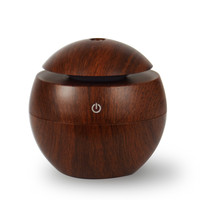 USB Wood Grain Aromatherapy Humidifier Office Desktop Mmini Perfume Machine Ultrasonic 2017 New Arrival Living Room