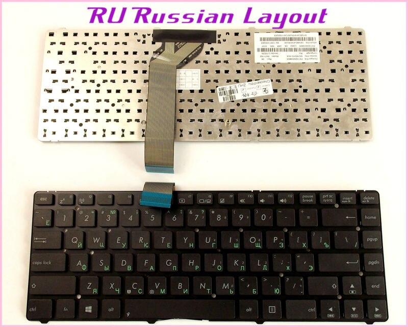RU Black New FOR ASUS K45D K45DR ASUS K45D K45DV K45N Laptop Keyboard Russian