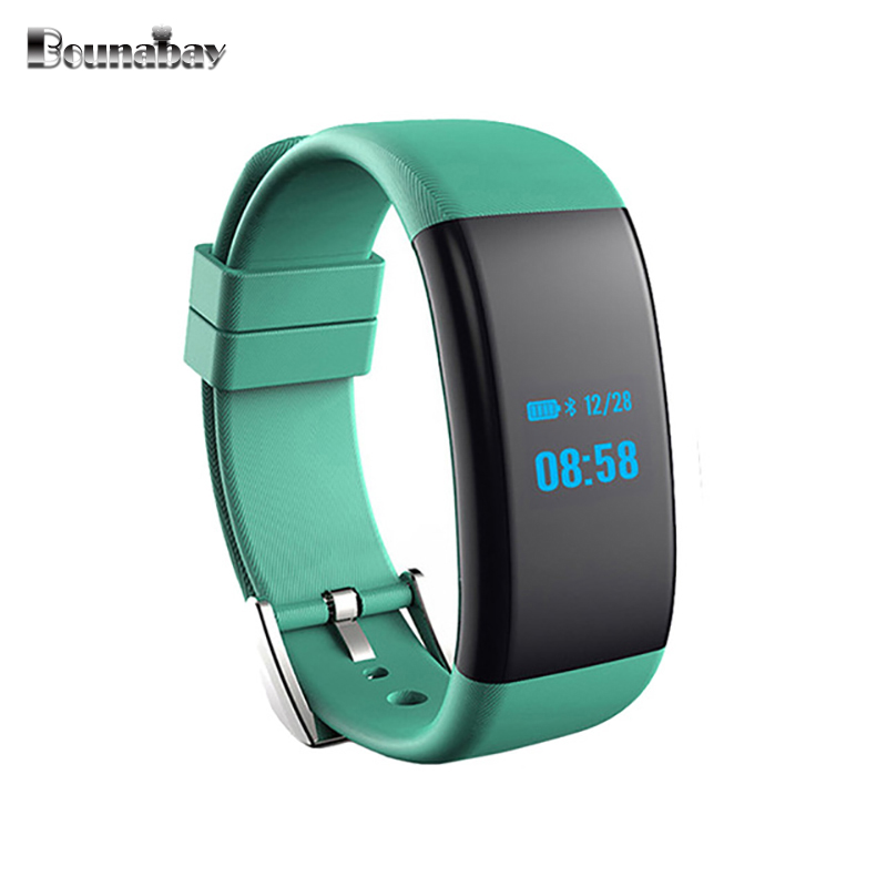 BOUNABAY Smart Bluetooth Bracelet watch for women touch watches Android ios apple phone ladies waterproof clocks lady wifi clock