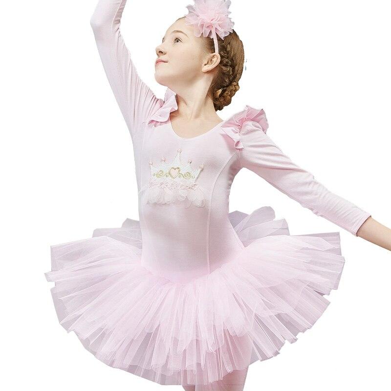 Ballet Tutu robe de mode filles Costumes de danse professionnels justaucorps bleu compétition danse porter enfants body combinaison DC1220