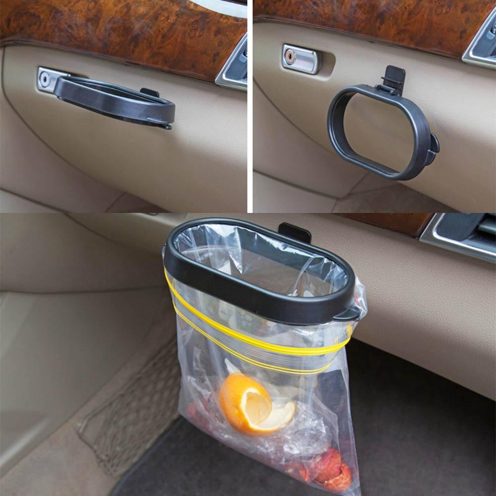 Universal Trash Can Frame For Car Automoboiles Trash Bin Frame Auto Garbege Waste Bag