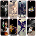 NBA Case for iPhone 7 Plus TPU Shockproof Arrmor Cover Star Back Case for iPhone 7Plus 5.5 inch