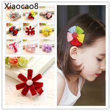 Cute Flower Butterfly Hair Clips for Girls Kids Fashion Girls Headbands High Quality Baby Girl Hair Accessories Hairpin Barrette(China)