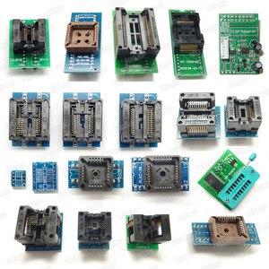 Image 5 - 100% oryginalny RT809H EMMC nand flash programista + 55 przedmioty z BGA48 BGA63 BGA64 BGA169 Adapter RT809H EMMC nand flash TSOP48