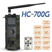 SUNTEKCAM HC700G охотничья камера 3g SMS GSM 16MP 1080p Инфракрасная камера ночного видения для охоты на животных