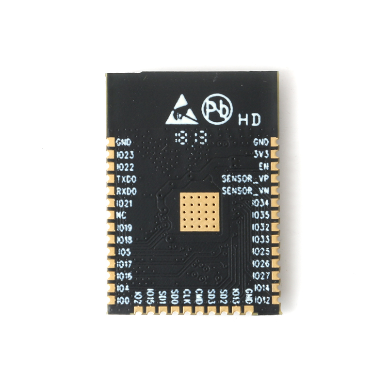 ESP32-WROOM-32 ESP-WROOM-32 ESP-32S WiFi and Bluetooth 4.2 DuaL Core CPU MCU Low-Power Bluetooth 2.4GHz ESP32 Chip ESP-32S (5)