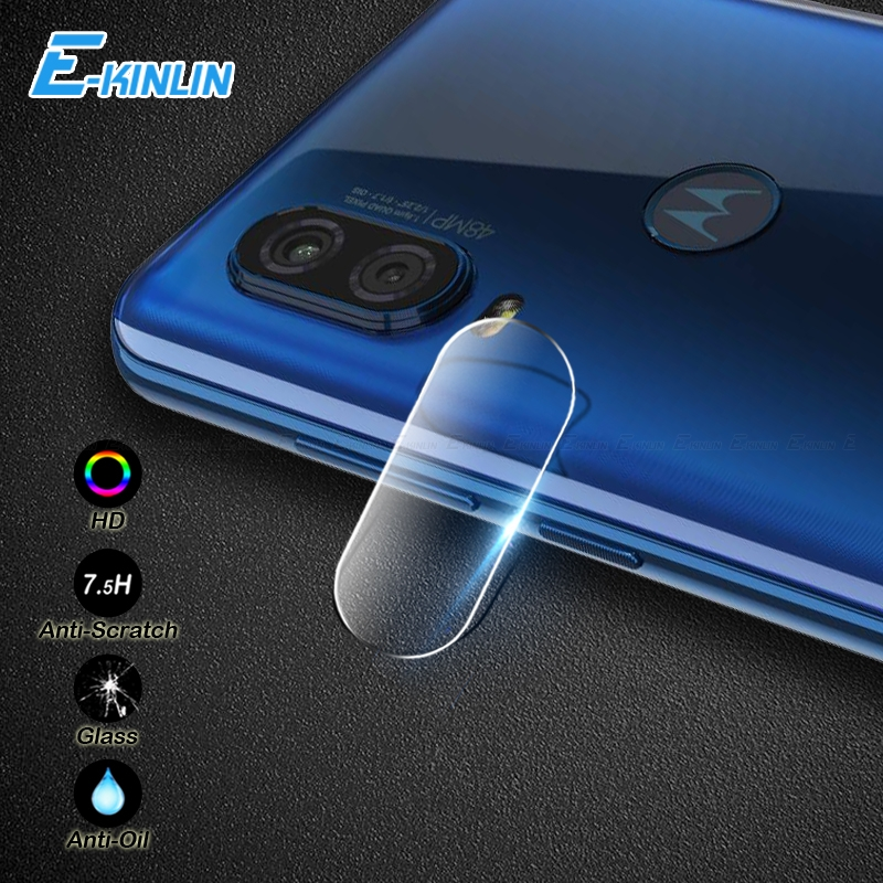 Back Camera Lens Clear Rear Screen Protector Protective Film For Motorola Moto One Vision P50 P30 Play X4 E4 M Tempered Glass