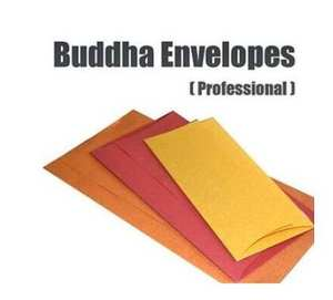 Buddha Envelopes (Professional) by Nikhil Magic - Magic tricks