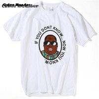 Biggie Smalls T gömlek Erkek Hip Hop Müzik Yıldızı Erkek T gömlek bilmiyorum eğer şimdi Harajuku Camisetas B.I.G biliyorum. Tee Gömlek 3XL