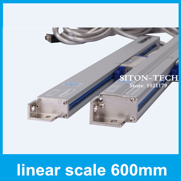 Free shipping sealed linear encoder Rational WTA5 600mm 5 micron linear scale Milling machine accessories free shipping high precision easson gs11 linear wire encoder 850mm 1micron optical linear scale for milling machine cnc
