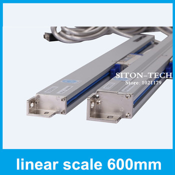 Free shipping sealed linear encoder Rational WTA5 600mm 5 micron linear scale Milling machine accessories