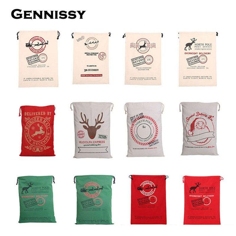 GENNISSY Weihnachtsgeschenk Taschen Hot New 1 stück Große Leinwand ...