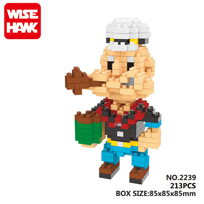 ANIME the sailor cute popeye figures Building blocks Kids Bricks DIY fashion funny baby toys